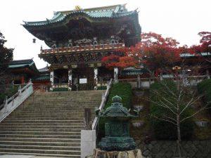 しまなみ海道 生口島の耕三寺(潮聲山) 紅葉まつり